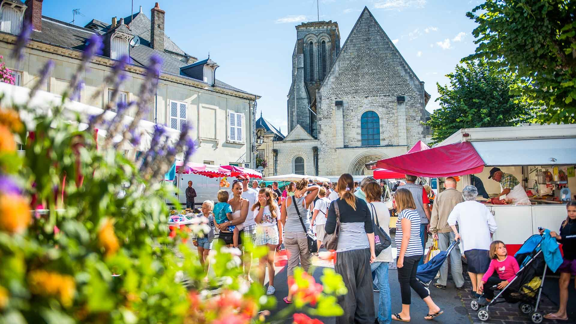 Markets in the Loire Valley
